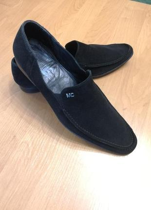 Туфли мокасины броги