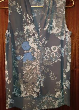 Блуза с цветочным принтом next.