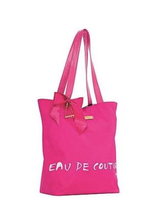 Juicy couture pink tote/шопер/пляжная сумка