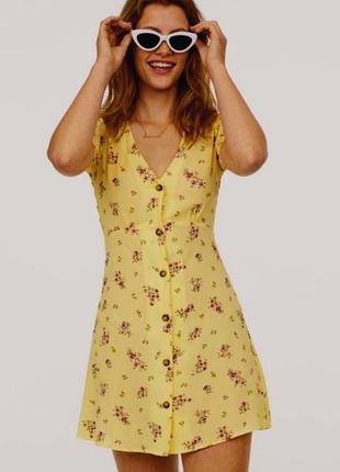 Платье летнее  вискоза в новом состоянии