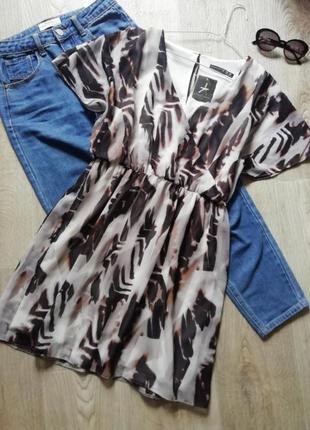 Лёгкое шифоновое платье, сукня, сарафан, плаття, платье летучья мыш