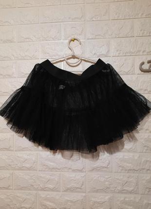 Юбочка фатиновая, эротическая юбочка чёрная
