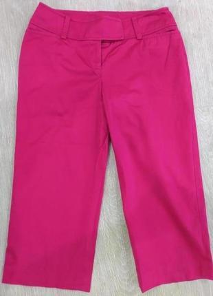Стильные яркие укороченные брюки ann taylor. размер xs