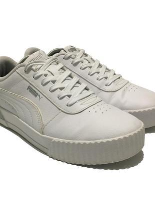 Puma carina leather кроссовки кеды