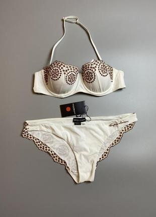 Emporio armani s купальник бандо комплект