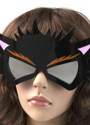 Очки маскарадные ведьмина кошка
