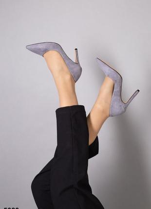 Туфли лодочки 👠 натуральная кожа замша