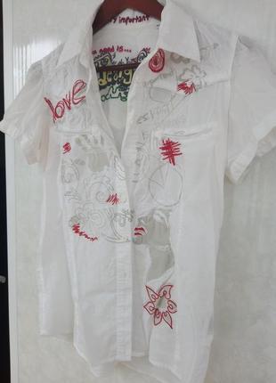 Красивая рубашка desigual