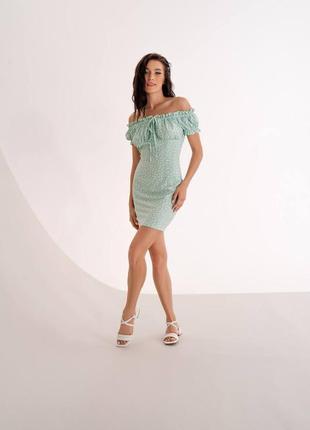 Нежное и утонченное платье-мини