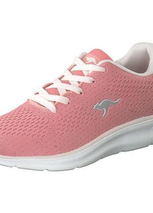 Кроссовки для девочки подростковые розовые kangaroos