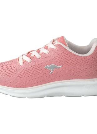 Кроссовки для девочки подростковые розовые kangaroos6 фото