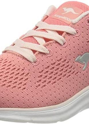 Кроссовки для девочки подростковые розовые kangaroos7 фото