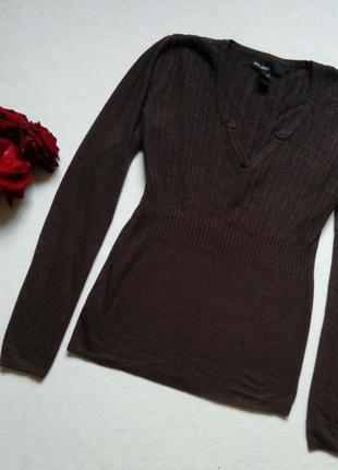 Шерстяной свитер mango кофта свитер джемпер размер с
