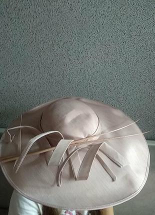 Шляпа винтаж шикарная