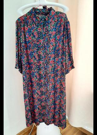 Платье цветочное 🌸🌸🌸 сукня натуральна