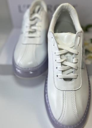 Кожаные итальянские кроссовки.4 фото
