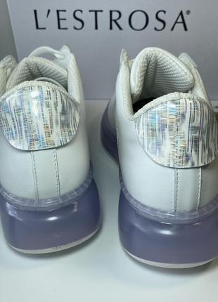Кожаные итальянские кроссовки.3 фото