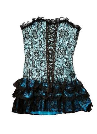 Платье корсет. готика