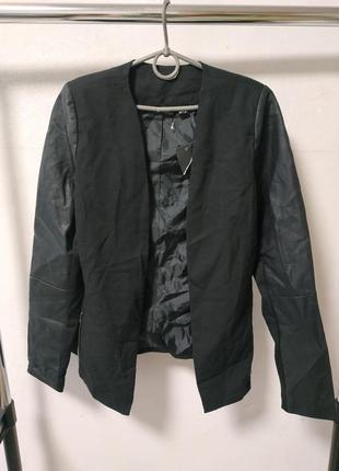 Пиджак без застежки размер uk 12 наш 46