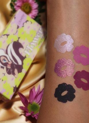 Colourpop flower тени для глаз