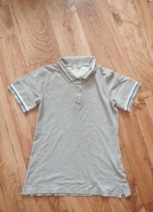 Новая серая футболка