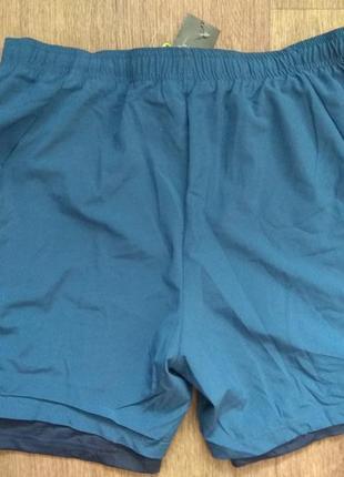 Мужские спортивные шорты с тайтсами размер м 48/50 crivit