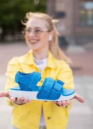 Босоніжки adidas adilette 1/0(без сеточки) боссоножки сандали