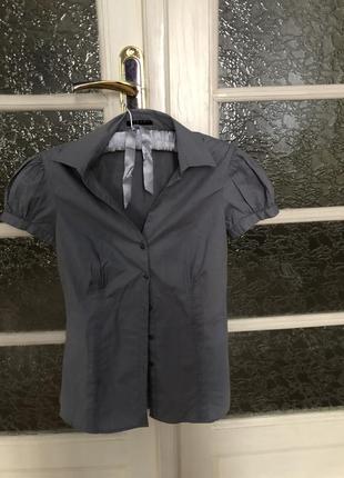 Рубашка з коротким рукавом sisley