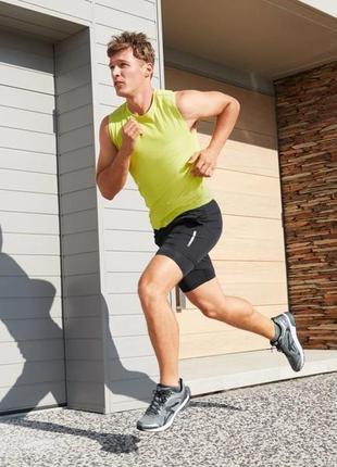 Мужские спортивные шорты с тайтсами размер 56/58 crivit