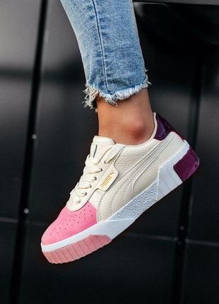 Puma cali шикарные женские кроссовки пума кали наложенный платёж купить