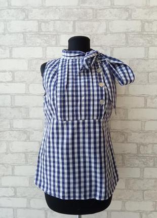 Летняя блуза в винтажном стиле