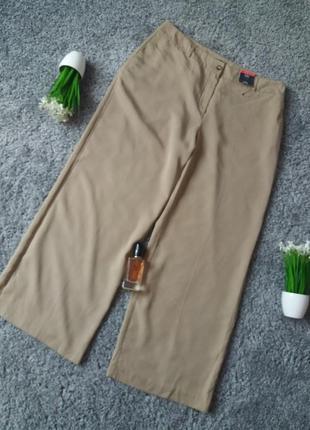Літні штани з широкими штанками 54-56р.