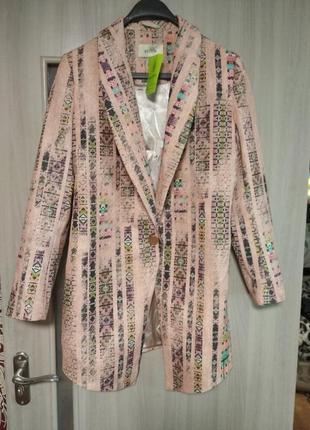 ❤️новый удлиненный пиджак жакет блейзер