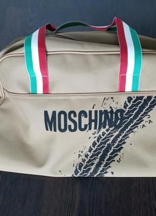 Сумка итальянского бренда moschino
