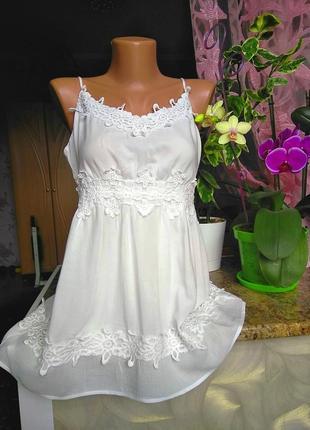 Красивая вискозная маечка блузка