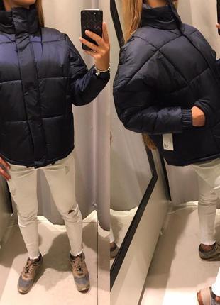 Тёплая дутая куртка reserved