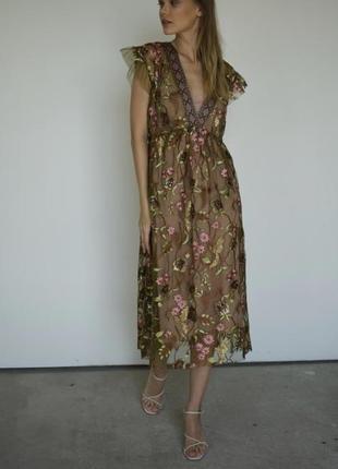 Платье в пайетках dixie