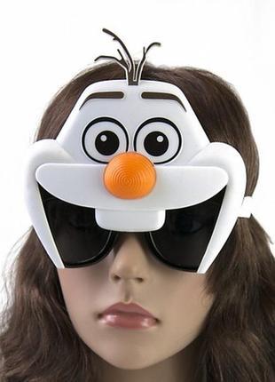 Очки олаф снеговик эльзы маскарадные