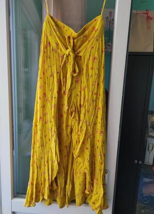 Оригинальная юбка с кюлотами от river island