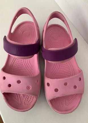 Босоножки crocs c 10