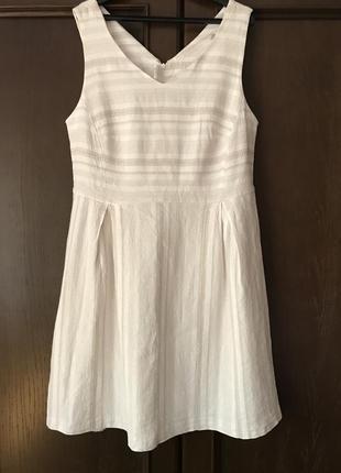Tu летнее платье из натуральной ткани р . 46 - 50 ( uk 16 )