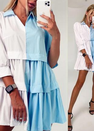 Лёгкое летнее платье новой коллекции