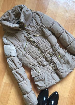 Утепленная куртка/зимняя куртка/на осень-зиму,р.s