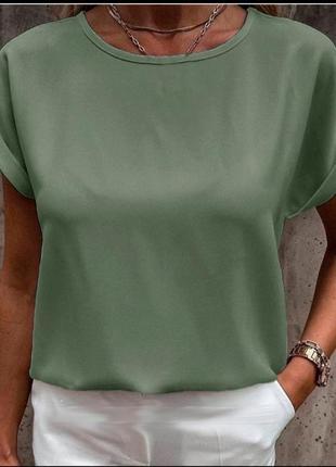Легкая блуза - футболка. много расцветок