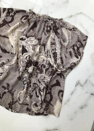 Легкая блуза sisley 