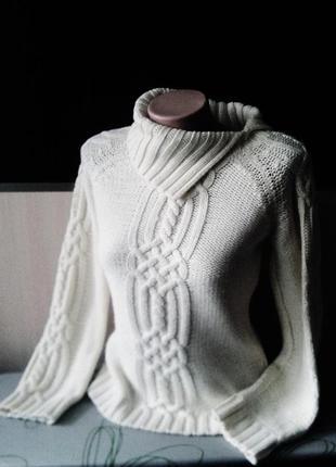 Фирменный штатовский свитер-джемпер-реглан ekseption