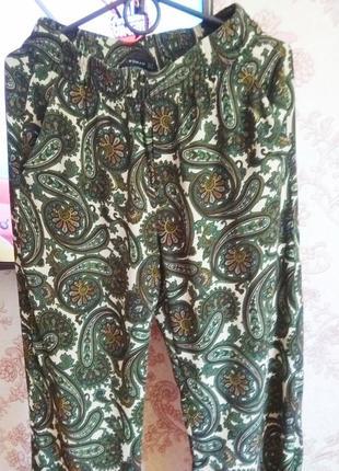 Свободные брюки вискоза