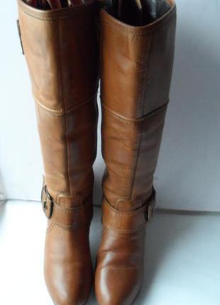 Удобные и кожаные сапоги!!от janet.d!!! размер 40