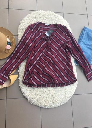 Блуза блузка на запах рубашка