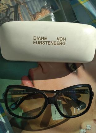 Оригинал стильные дизайнерские солнцезащитные очки diane von furstenberg nataly